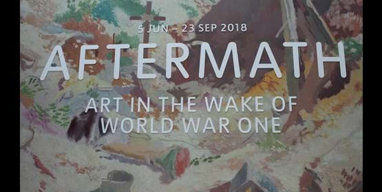 Blog: Aftermath: Art in the Wake of WWI - Exhibition Review Module