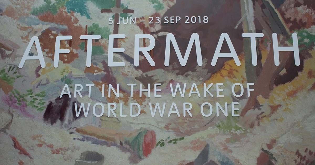 BLOG: Aftermath: Art in the Wake of WWI - Exhibition Review Image