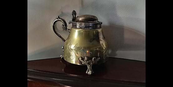 BLOG: Inspired by an Early Victorian Mustard Pot by John Culme Module
